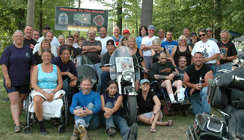 Group shot of 2005 EKIII Run Participants